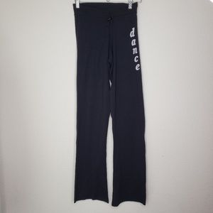 Avenues Black Stretchy Dance Pants
